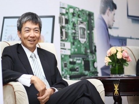 华硕许祐嘉:商用主板将满足新行业用户需求