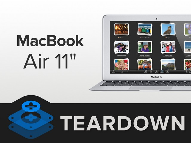 满足你的拆解欲 拆15款MacBook Air11