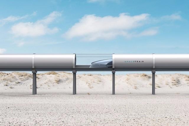 当这些高科技被有效的整合在一起后,使得这种列车的时速可以高达745mph,大约为1200km/h,简直逆天了!