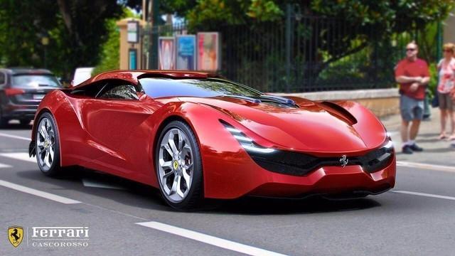 《大劲撩车》:法拉利CascoRosso(70)