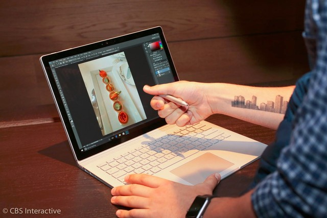 MacBook+YOGA结合体?Surface Book图赏