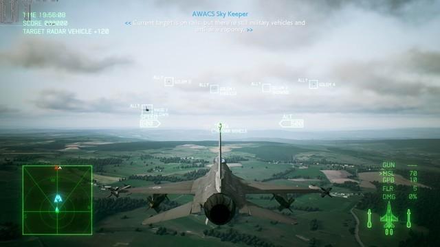 《皇牌空战7》PC版测试截图 2080Ti运行效果超神