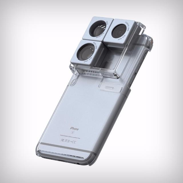 国外设计师Jimmy Song, Sooljin Sim & Heejin Lee研发了一种类似积木的iPhone手机壳。