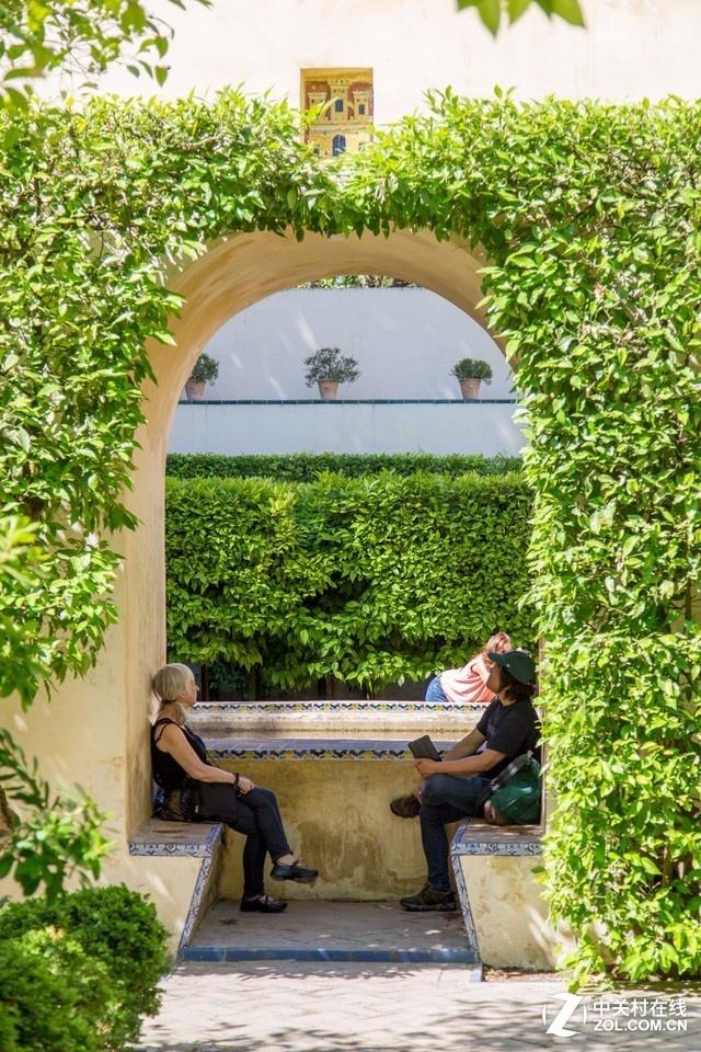 大C游世界 西班牙塞维利亚皇宫的花园