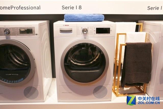 博世I8系列干衣机,众多特色烘干技术,带来全新使用体验。