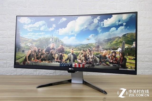 35吋4K超宽带鱼屏 明基EX3501R显示器图赏