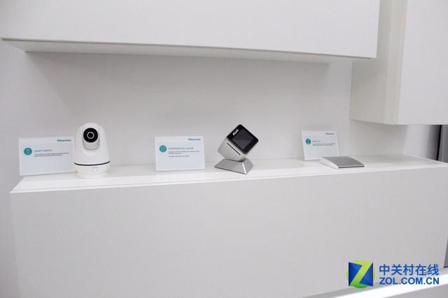 海信智能摄像头、环境监测器、智能控制站