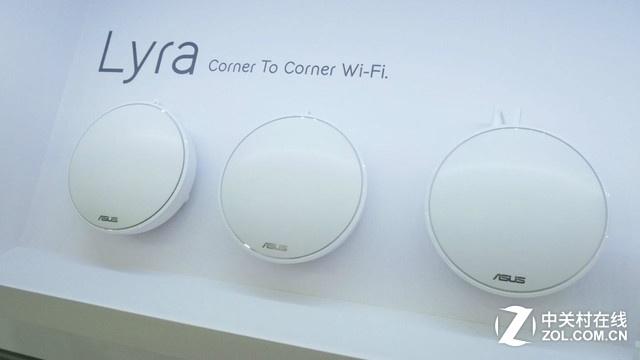 华硕天琴座Lyra是一款三频网状网无线路由器系统,一组Lyra由3台设备组成,可以摆放在家中为房间各处角落提供顺畅无缝的Wi-Fi信号。